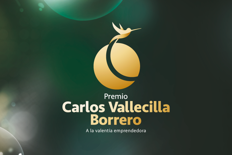 FINALISTS TO THE ENTREPRENEURIAL AND COURAGE SPIRIT AWARD: CARLOS VALLECILLA BORRERO.