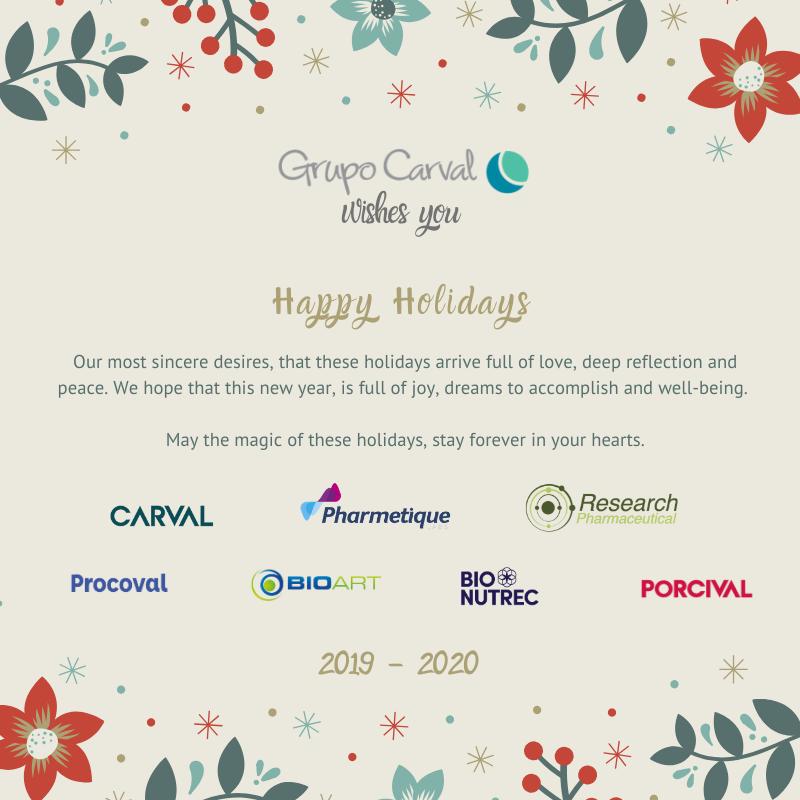 Grupo Carval Feliz Navidad 2019